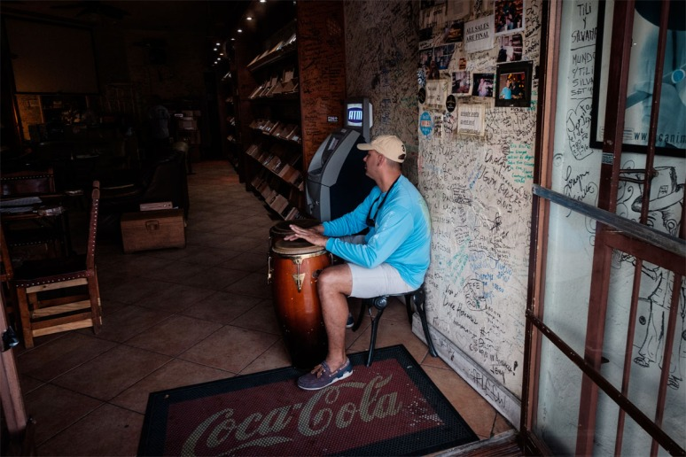 Cigar Store Drumming
